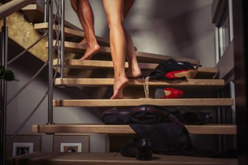 Couple climbing up the stairs: How to make sex exciting again in a long term relationship or marriage?