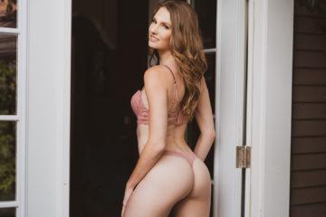 Hot American girl Ashley Lane's sex-tape