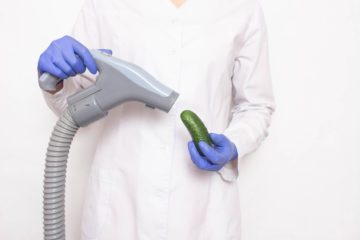 Penis pumps don't make your junk bigger, but they do treat this common problem